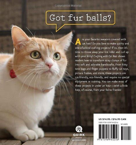 thanks fur last books got fur balls you can now make crafts with cat hair