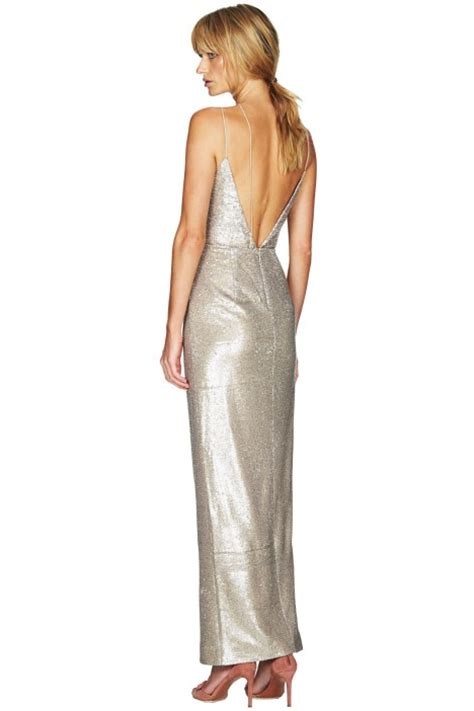 Maxy Goldy goldie maxi dress by talulah for hire glamcorner