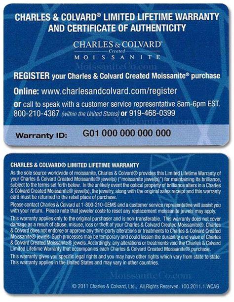 warranty card template warranty moissaniteco moissanite rings and