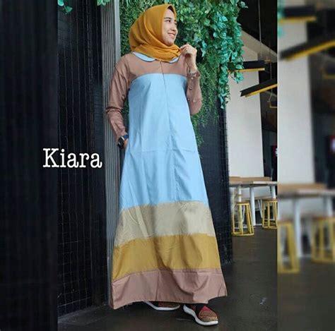 baju gamis syari terbaru ibu muda modern kiara gamissyari net