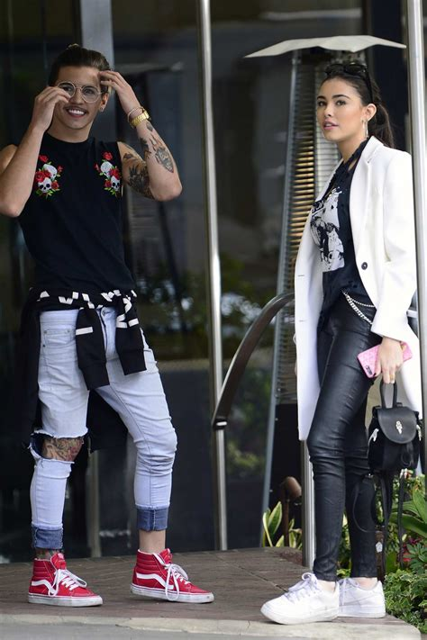 madison beer ucla madison beer grabs lunch with brazilian pop singer biel at
