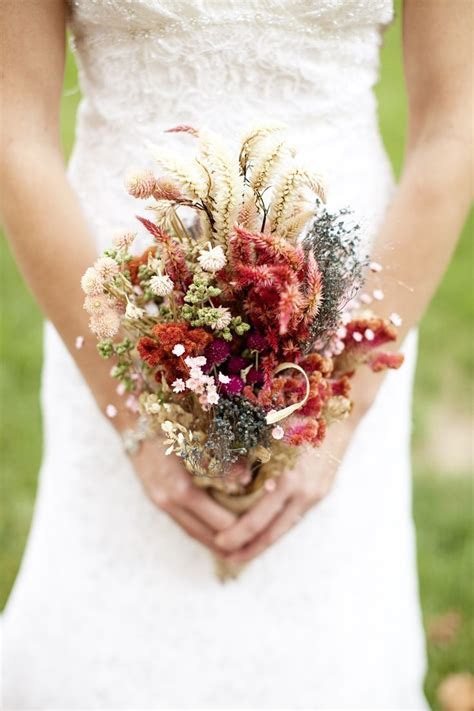 25  best ideas about Dried flower bouquet on Pinterest