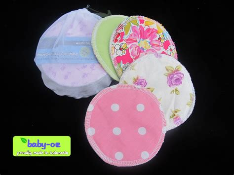 Breast Pad Baby Oz cacicucemo jual washable breastpad by baby oz