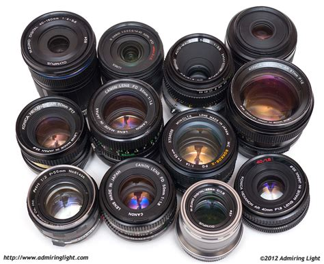 with lenses 12 lenses spanning 50 years do battle page 2 of 2