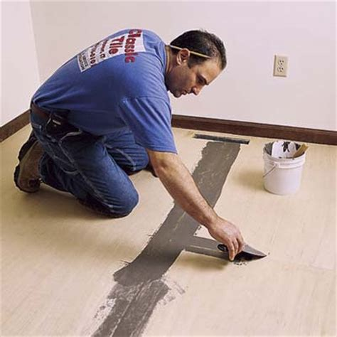 how to put down tile in bathroom put down underlayment how to lay a vinyl tile floor