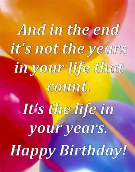 Happy Birthday Wishes Quotes For Special Birthday Wishes Inspirational Quotes Pictures
