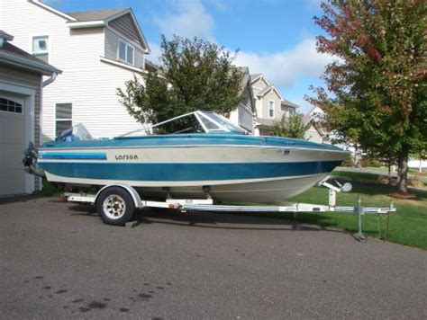 boat storage blaine mn 1980 17 foot larson delta conic power boat for sale in