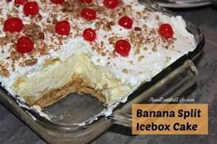 bananensplit kuchen banana split cake recipes dishmaps