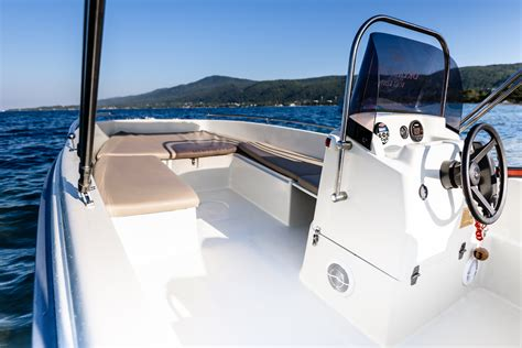 dream swim boat rental karel 4 50 rent a boat in chalkidiki 1 dream swim boat