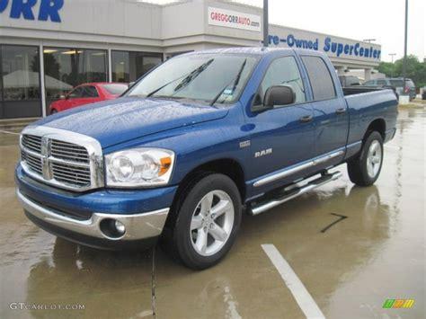 2008 big horn dodge ram 1500 2008 electric blue pearl dodge ram 1500 big horn edition