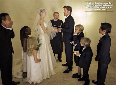 Brangelina Getting Married by World Exclusive Brad Pitt And S Wedding