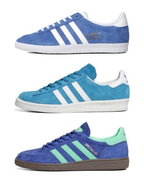 adidas blue sneakers gotta them blue suede sneakers adidas originals