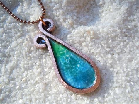 how to make copper enamel jewelry enamel pendant enamel necklace enamel jewelry copper