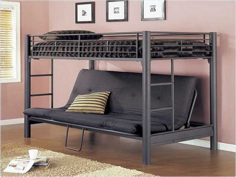futon loft bed metal futon bunk bed roof fence futons
