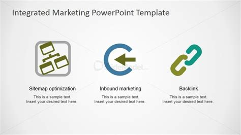 Sitemap Inbound Marketing And Backlink Powerpoint Icons Powerpoint Sitemap Template