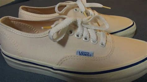 Jual Offwhite Galaxy 1 1 Like Authentic shoe review vans authentic vintage 1970 s made in the