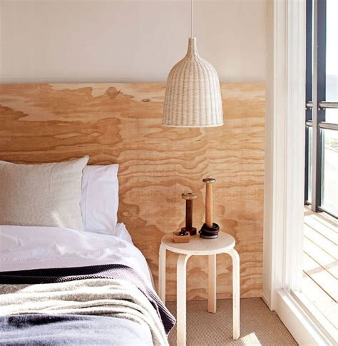 diy headboard plywood idea to steal 20 plywood headboard apartment34