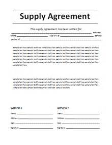 agreement template agreement templates free word s templates