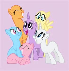 My little pony group base pony group base by rain