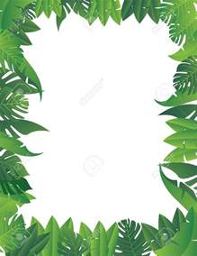 border jungle background clipart cliparts art inspiration