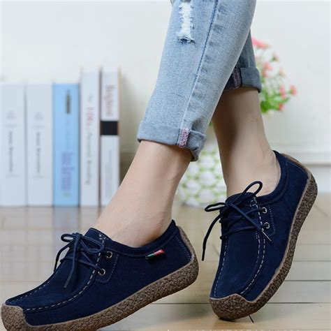 womens flats shoes sale fashion shoes breathable soft solid casual