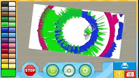 nick jr painting nick jr play spin maker children to play