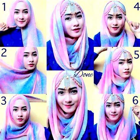 tutorial hijab wisuda by zoya tutorial hijab pashmina kaos terbaik modelbusana