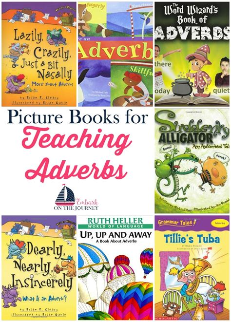 picture book lessons teaching adverbs with picture books