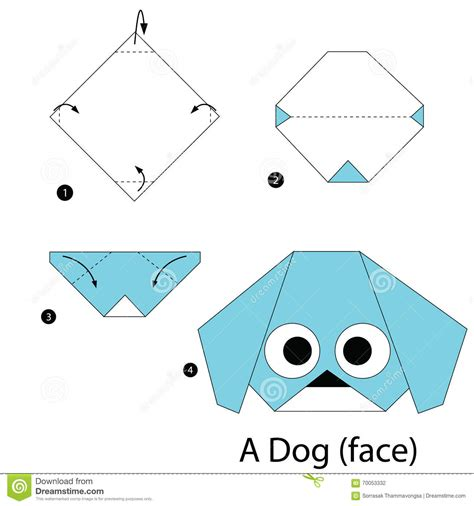 How To Make Origami Animals Step By Step - step by step how to make origami a