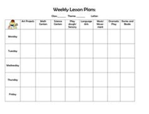 School Age Lesson Plan Template by Naeyc Lesson Plan Template For Preschool Sle Weekly