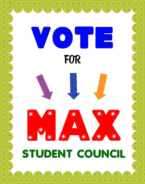Templates For Student Council Posters | 12 useful student council posters free premium templates