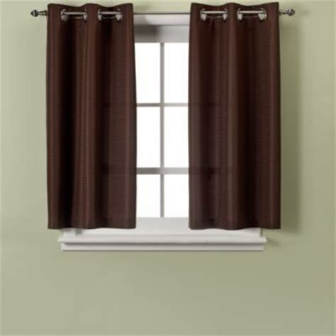 45 inch length curtains hookless waffle 38 inch x 45 inch window curtain in