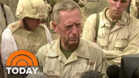Armchair Generals Donald Trump Reveals Pick Of James Mad Dog Mattis For