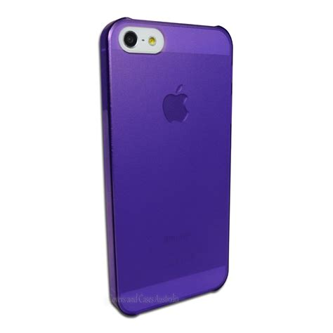 Iphone 5 Thin purple ultra thin frosted matte for apple iphone 5 5s