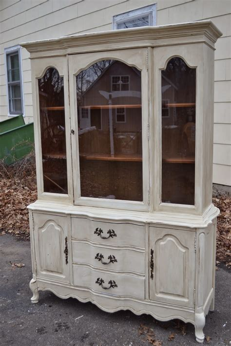 Country China Cabinet Hutch by Heir And Space A Country China Hutch