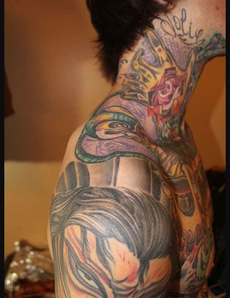 mitch lucker tattoos mitch lucker s tattoos mitch lucker