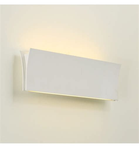 applique parete applique da parete led design bianco iris