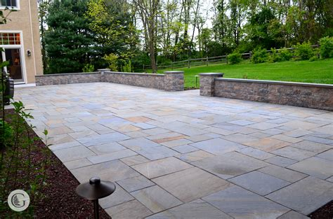 Dry Laid Patio 100 Stone Patio Techo Bloc Stone Patio In Potomac