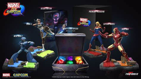 Best Seller Ps4 Marvel Vs Capcom Infinite Deluxe Edition Reg 2 marvel vs capcom infinite collector s edition for playstation 4 gamestop