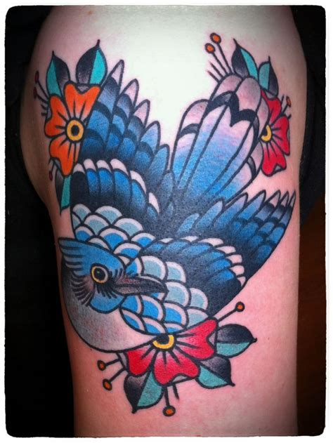 blue jay tattoo school blue tattoos a nyc