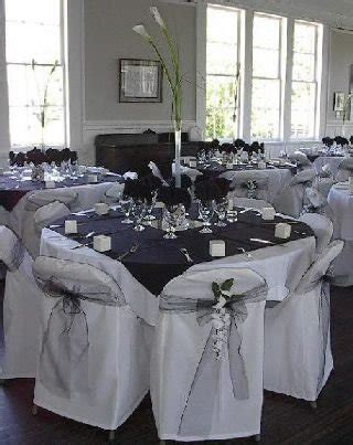 black and silver centerpiece ideas black white and platinum wedding colors weddings
