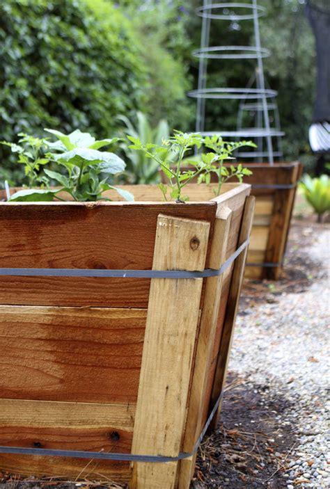 Tree Box Planter by Tree Box Garden Eat Drink Garden Santa Barbara