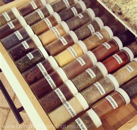 Great Kitchen Storage Ideas How To Store Amp Organize Your Spices Tips For Storing