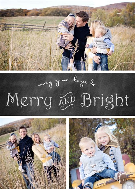 merry photo card template free chalkboard card templates 187 chelsea