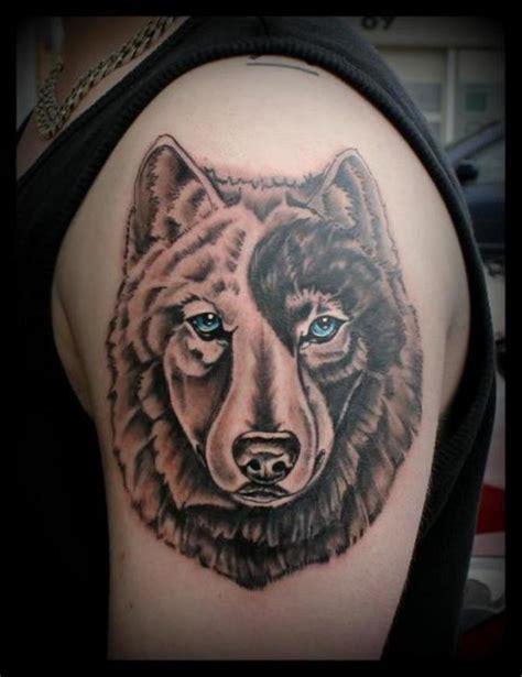 yin yang wolf tattoo 90 wolf tattoos tattoofanblog