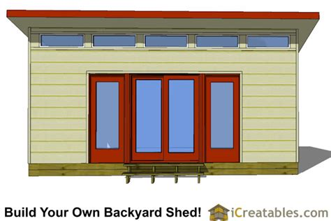 modern studio plans 16x20 modern studio shed shed plans way to build