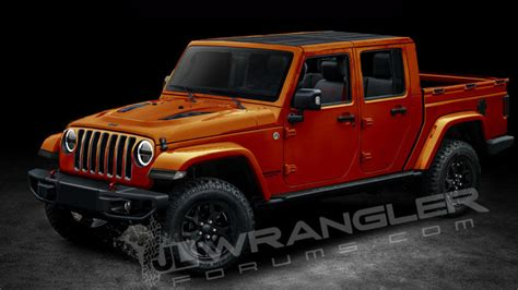 Jeep Jt Forum Die Hards Render Upcoming Jeep Wrangler Jt Rubicon