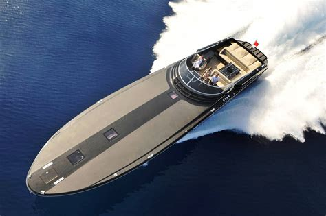 fast sport boats fastest boat motor yacht gush is a sleek and very fast