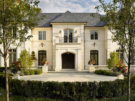 french style houses french chateau traditional exterior chicago by