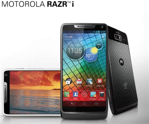 Hp Motorola Android Jelly Bean android 4 1 2 jelly bean now rolling out to motorola razr i smartphones in the uk talkandroid